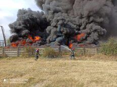 incendiu deseuri