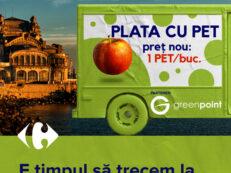 Vizual Caravana Plata cu PET Constanta
