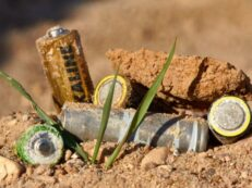 baterii reciclate