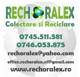 RECHORALEX SRL - Firmă de colectare și reciclare deșeuri în Criscior, județul Hunedoara