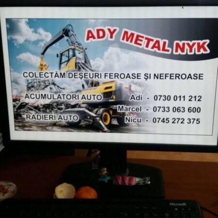 ADY METAL NYK SRL - Firmă de colectare și reciclare deșeuri în Arad, județul Arad