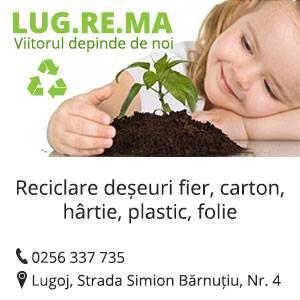 LUG RE MA SRL - Firmă de colectare și reciclare deșeuri în Lugoj, județul Timiș