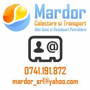 MARDOR SRL - Firmă de colectare și reciclare deșeuri în Somova, județul Tulcea
