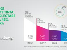 Infografic tinta crestere target 2021