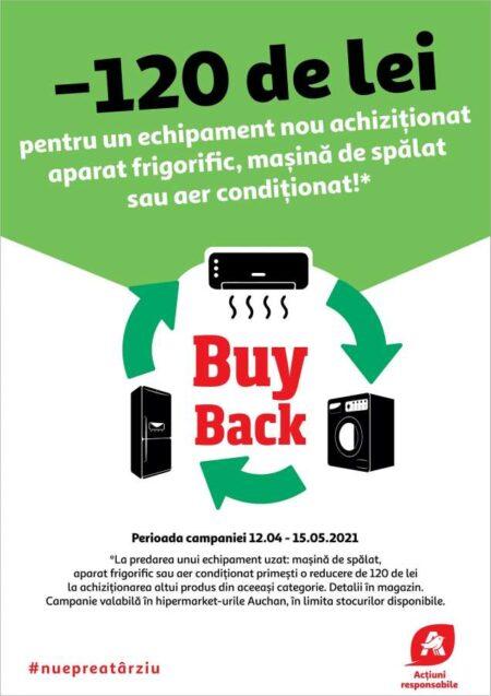 Auchan Buy Back electrocasnice
