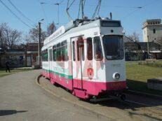 Inaugurare tramvaiul reciclarii