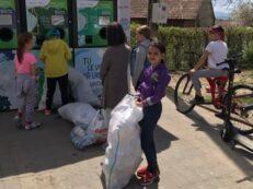 aparat colectare reciclare recipiente plastic spring mai